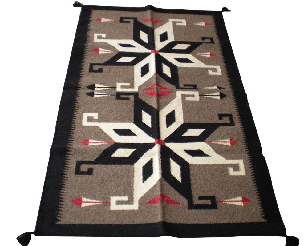 Navajo Kilim 5x7 ft ft rug no. 3591